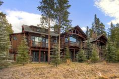 Morning Star Lodge is a beautiful villa for rent in Breckenridge, CO. View info, photos, rates here. Ski Lift, Ski Chalet, Morning Star, Beautiful Villas, In The Tree, Lodges, Skiing, Outdoor Living, The Neighbourhood