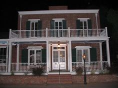 "The Whaley House. According to ""Americas Most Haunted"", the house is the #1 most haunted house in the US.  Anyone want to go there with me?"