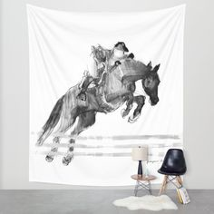 Buy Jumper Wall Tapestry by Paper Horses. Worldwide shipping available at Society6.com. Just one of millions of high quality products available.