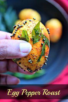Egg Pepper Roast - C