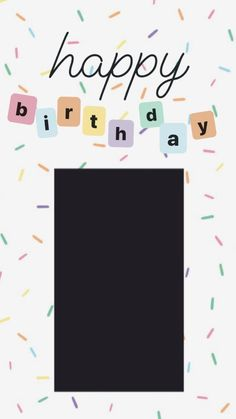 Instagram And Snapchat, Instagram Story Ideas, Instagram Quotes, Happy Birthday Template, Happy Birthday Frame, Birthday Posts, Birthday Captions Instagram, Birthday Post Instagram, Fond Design