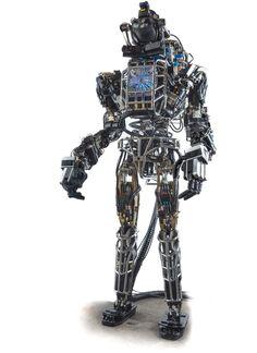 real robots | Meet DARPA's real-world Terminator, Atlas | ExtremeTech