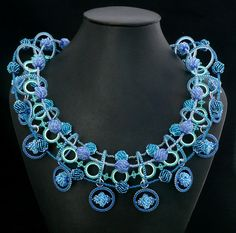Rings Around the Collar - Beaded Jewelry by Kathy King