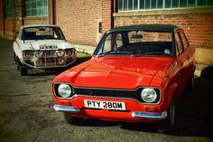 1970 and 1973 Ford Escort Mexicos
