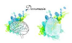 La demencia es un síndrome generalmente de naturaleza crónica o progresiva que implica el deterioro de la memoria, el intelecto, el comportamiento y la capacidad para realizar actividades básicas de la vida diaria más allá de lo que podría considerarse una consecuencia del envejecimiento normal. HC Marbella Hospital Internacional #ilustracionesbonitas #láminas #hospitalesconencanto