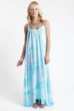 Dina Manzo's Tie Dye Maxi Dress http://rstyle.me/~2Cc9e