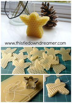 http://www.thistledowndreamer.com/2013/11/christmas-crafting-cookie-cutter-angel.html