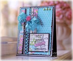 The Best Grandparents by AndreaEwen - Cards and Paper Crafts at Splitcoaststampers