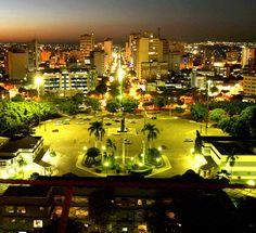 Goiás-Goiânia-Brasil  Goiás vista a noite