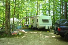 RV camping .....my kind of camping!!  LOVE IT,