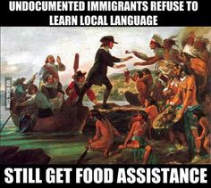 Americans are quick to forget they were the first immigrants