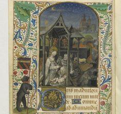 Horae ad usum Parisiensem Date d'édition : 1401-1500 Type : manuscrit Langue : Latin Droits : domaine public Identifiant : ark:/12148/btv1b60005168