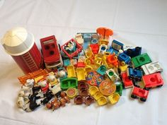 Vintage fisher price Little People accessory lot #FisherPrice