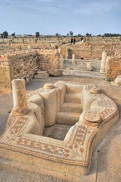 Sbeitla is a small town in north-central Tunisia. Nearby are the Roman ruins of Sufetula, containing the best preserved Forum temples in Tun...