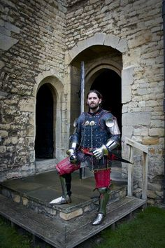 My 14th century knight armour