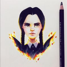 Wednesday Friday Addams by Lera Kiryakova