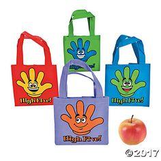Mini High Five Tote Bags