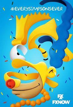 Os Simpsons: Série ganha belos cartazes inspirados em grandes obras da arte abstrata - Slideshow - AdoroCinema