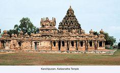 Kanchipuram Kailsanatha Temple, Tamil Nadu.
