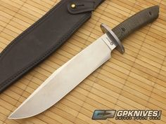 Boker Arbolito El Gigante Canvas Micarta Fixed Knife 02BA595M