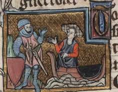 Beinecke Arthurian Romances Dating From France Old Clothes, Medieval Clothing, 14th Century, Norway, Romances, Miniatures, France, Ms, Image