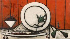 Bernard Buffet, Nature morte aux cerises, 1962