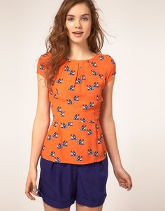 I love this swallow top