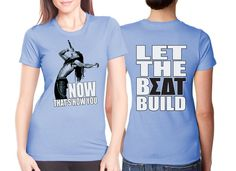 """Let the Beat Build"" Sorority Screen Print Ideas #Greek #Sorority #Screenprinted #Clothing #SDT #SigmaDeltaTau #SigDelt"
