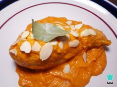 Receta de Pollo almendrado mexicano #RecetasGratis #RecetasMexicanas #ComidaMexicana #CocinaMexicana #Pollo