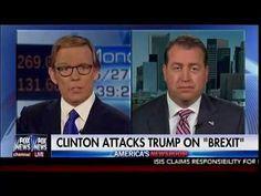 "AB News : Clinton Attacks Trump On ""BREXIT"" - America's Newsroom"
