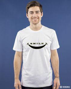 Smile mood Premium T-Shirt design #tee #findyourthing #rshirt $smile #emojitshirt #emoji #shirt Emoji Shirt, T Shirt, Smile Design, Shirt Designs, Fashion Outfits, Mood, Tees, Clothing, Mens Tops