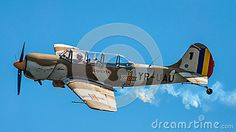Model: Plane at air show on clear blue sky. Airplane at parade. Held in Constanta at Tomis Marina Bay. Navy Day, Clear Blue Sky, August 15, Air Show, Marina Bay, Romania, Airplane, Fighter Jets, Aviation