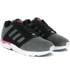adidas zx flux grise noir et rose