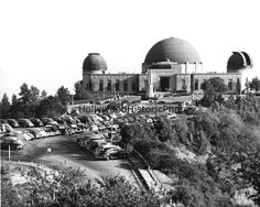 "Griffith Park Observatory 1941.  About ten years before ""Rebel Without a Cause"" was filmed."
