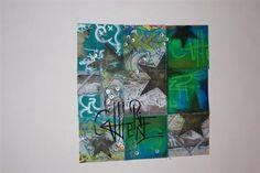 Paper Graffiti Quilt