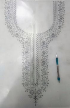 Embroidery Suits, Neck Design, Couture Week, Tapestry, Fire, Bridal, Drawings, Decor, Women