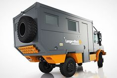 Langer & Bock Unimog Overland Camper