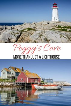Peggy's Cove, in Nova Scotia, Canada: More than just a lighthouse. Click through for tips for visiting this spot- without the crowds!