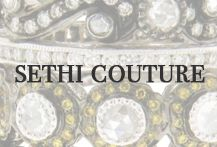 Sethi Couture designer jewelry, engagement rings and wedding bands are available at Oster Jewelers and osterjewelers.com