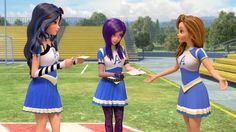 Mal and Evie show up for Spirit Day, and realize the cheer sounds a lot like a childhood spell they used to hear. Watch Descendants, the full movie, at http:...