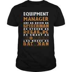 EQUIPMENT MANAGER Are as Like as Spiderman Hulk Ironman Batman T Shirts, Hoodies. Check price ==► https://www.sunfrog.com/LifeStyle/EQUIPMENT-MANAGER--BATMAN-Black-Guys.html?41382