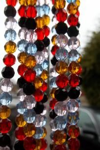 50 pcs. of Multi-Faceted Czech Glass Beads~