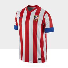 Activewear Atletico Madrid Nike Home Football Shirt 2016-2017 New Soccer Jersey Camiseta Activewear Tops