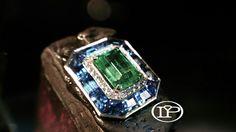 #Job #Art #Tackstone #Emerald #Sapphires #Diamonds #Jeweler #IP