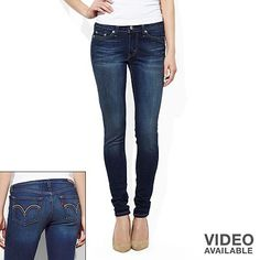 Levi's 535 Denim Leggings - Juniors want so bad!!