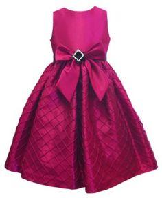 Jayne Coepland Kids Dress, Girls Taffeta Bow Dress