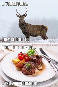 Yet another reason why we hunt! #huntinghumor #fridayfunnies
