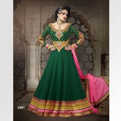 embroidered-green-full-sleeve-anarkali-suit