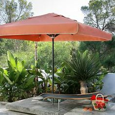 Luxurious Caravita® Riviera Square Patio Umbrella