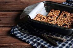Honeyed Apricot Granola Bars  Yields 8 granola bars  5 ounces (145 grams) dried apricots